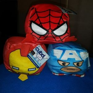 Cubd Pillow Marvel Characters